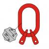 A2 - Závesná hlava pre dvojpramenné reťazové väzáky -DIN 5688-3, trieda 8