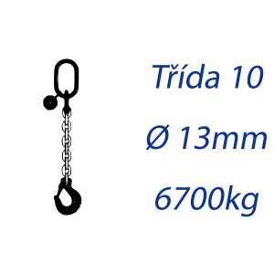 Viazacia reťaz triedy 10, O-H, priemer 13mm, nosnosť 6700kg