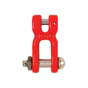 TWN 0862 špeciálny strmeň s vidlicou, s maticou a závlačkou, trieda 8, červený lak
