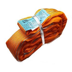 RSK 10000kg, nekonečný závesný popruh so zosilneným plášťom, oranžový