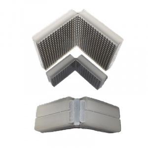 PU - polyuretánová ochrana rohů, typ KWL, bez magnetu, dělená