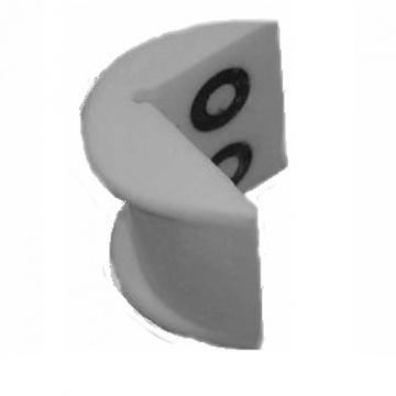 PU - polyuretánová ochrana rohů, typ KW, bez magnetu