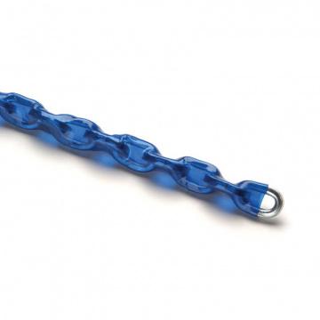Reťaz poisťovací tvrdená, pozinkovaná - modrý obal