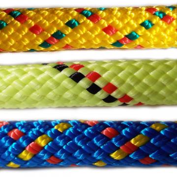 PPV multitex - polypropylénové laná a šnúry, pletená, s jadrom