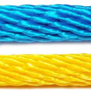PPV multitex - polypropylénové laná a šnúry, spiroidnej