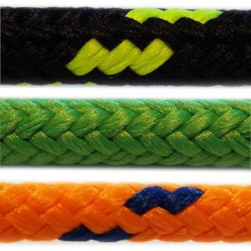PES - polyesterová laná a šnúry, pletená