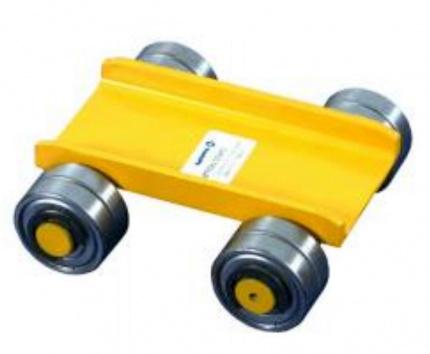 Pojazdový vozík s oceľovými kolieskami nosnosť 1500kg, EN 1757, HAKLIFT