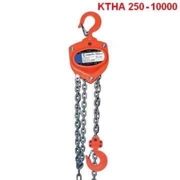 Ručný kladkostroj typ KTHA 250 - 20000kg, HAKLIFT