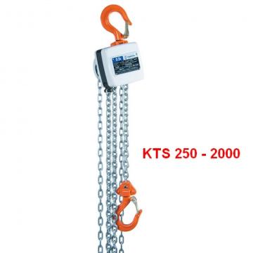 Ručný kladkostroj typ MINI KTS 250 - 2000kg, HAKLIFT