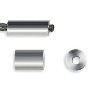 Hliníková kruhová objímka, EN 13411-3, pôvodne DIN 3093