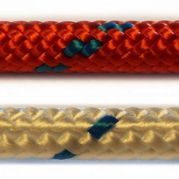 TORNÁDO / ZENITH - štartovacie a vlekov šnúry, bielo-modrej a červenej