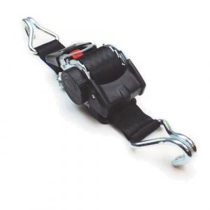 Samonavíjací upínací pás typ AZG50 IHD, čierny, 2xIHD, LC 500daN