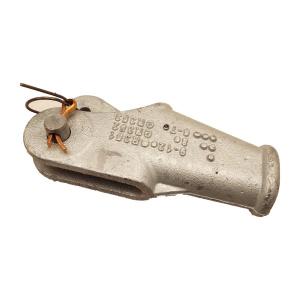 Klinová svorka, pozinkovaná - podobná DIN 43148